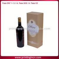 delicate cardboard wine carrier