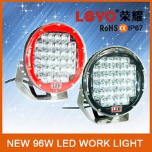 Promotion 10'' 96w offroad led work light for trucks, cars, atv, suv led emergency work light