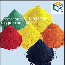 Factory sell red iron oxide and yellow pigments for making paint/ceramic tiles/concrete