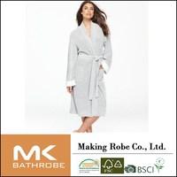 women fancy thermal Boucle sleeping Robe