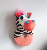 High quality and eco-friendly plush toys of little zebra