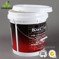 printing 16 liter and 18 liter industrial plastic paint bucket