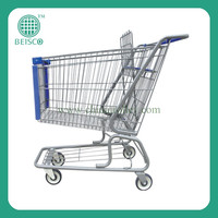 Electric shopping cart trolley