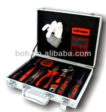 16pcs High quality aluminium case promotion gift tool set