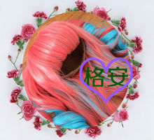 the newest design and fashion red doll wig wholesale