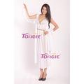 2015 as últimas mulheres elegantes de fantasia de carnaval da deusa grega vestuário feminino vestido extravagante