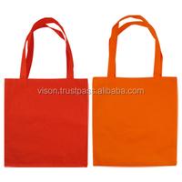 CHEAP REUSABLE SPUNBOND NON WOVEN MECHANDISED SHOPPING BAG