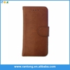 Factory Popular hot selling pu leather wallet case for iphone 5