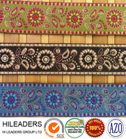 JR132 ribbon work embroidery designs/jacquard ribbon