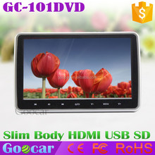 Super Slim 10 inch TFT LCD Touch Headrest DVD Player for Toyota