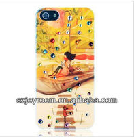 """High quality coloful bling diamond / Crystal case cover for iphone5"""" case"""
