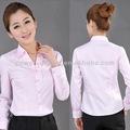 2013 camisa de mujer uniformes de oficina de diseños para la mujer
