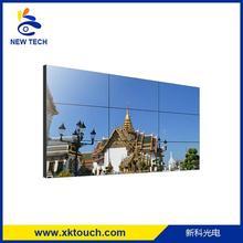 55 inch wall mount ultra narrow bezel lcd video wall with HDMI/VGA/DVI input