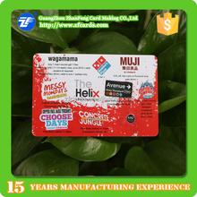 Full Color Printed Plastic Membership Card Manufacturer