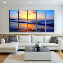 China Gold Supplier Directly Supply High Quality Impression Seascape Oil Painting On Canvas Popular Modern Seascape Oil Painting