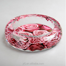selling like cake crystal glass ashtray,