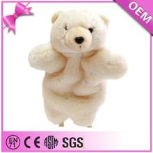 Soft plush animal,brushy white toy,stuffed polar bear