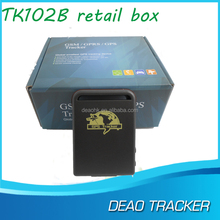 See larger image Personal mini GPS + GSM Tracker TK102 gps tracker tk102-2