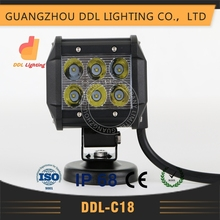 off road motorcycle parts 4x4 suv auto 18w pick up led work light