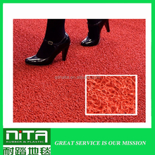 non-slip waterproof floor carpet pvc coil door mat any size or thickness