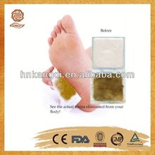 orignal equipment manufacturer Bamboo Vinegar detox foot patch for slimming patch
