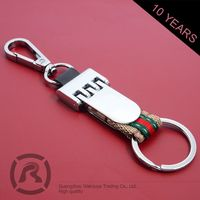 New Arrival Various Design Metal Keychains With California