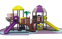 Newest/Best-Selling/lldpe steel tube plastic playground