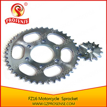 Good Quality FZ16 Motorcycle Chain and Sprocket Kits Hot Sale in South America