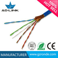 Network cable 4-pair shieldedcat5 sstp cable providers Guangzhou China