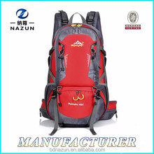 Support Bearing System with Rain Cover Men's Travel Backpack