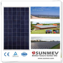 Solar panel 250w High efficiency With TUV, IEC,CSA,CEC,MCS,CE,ISO Certifications