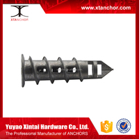 Zinc Alloy Speed Drive Plug/ easy drive anchor/zinc alloy drywall anchors china fasteners