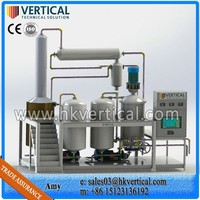 VTS-PP Vertical PLC Control Vacuum Oil Filtration PlantsWaste Engine Oil Recycling Machine