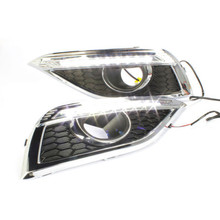 Light Guide High Power LED DRL Daytime Running Light For Honda CRV 2012