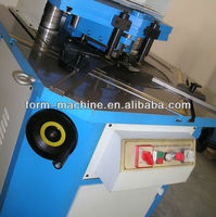 Precise and rigid adjustable angle notcher cutting machine