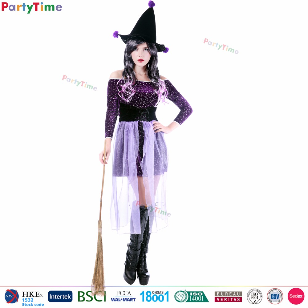 2016 wholesale purple sorceress carnival costumes for women cosplay