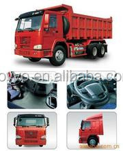 China Sinotruck howo 6x4 8x4 tipper/dump truck for hot sale right hand driving vehicle