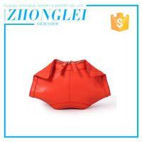 Fashion Designs Custom Tag Business Genuine Leather Coin Purse