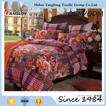 The best fashion Top quality comforter sets 2015 bedding sets 100% cotton