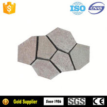 Durable and nice surface grey slate roof tile with two holes