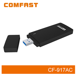 COMFAST CF-917AC 2.4GHz & 5.8GHz 1750Mbps High Speed Wireless Broadband Dongle 11AC Dual Band Wireless Lan Adapter