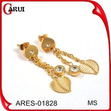 Gemstone earrings cheap earring gold plated earrings jewellery nepal gold plated jewellery