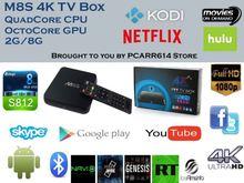 Top Selling!!!Quad Core Google M8 ott tv box Amlogic S802 M8 Tv Box Pre-installed XBMC KODI M8 4K TT TV Box