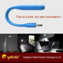 2015 Hot sales New Design Mini LED USB light, Portable reading Lamp For Power Bank Computer Flexible