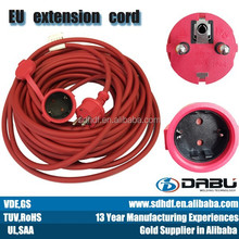 red extension cord reel power cord reel electric wire