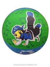 Cartoon style Rubber Basketball Size 3