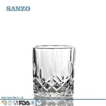 sanzo personalizado fabricante de vidrio de la máquina de fantasía hecha de vidrio para beber