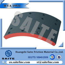 WVA19931 SV40 factory price SCANIA truck brake lining drum