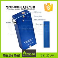 2015 alibaba en espanol Lemaga vapor mod american muscle mod box in ready stock