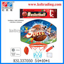 sport kids plastic toy basketball board and hoop toy